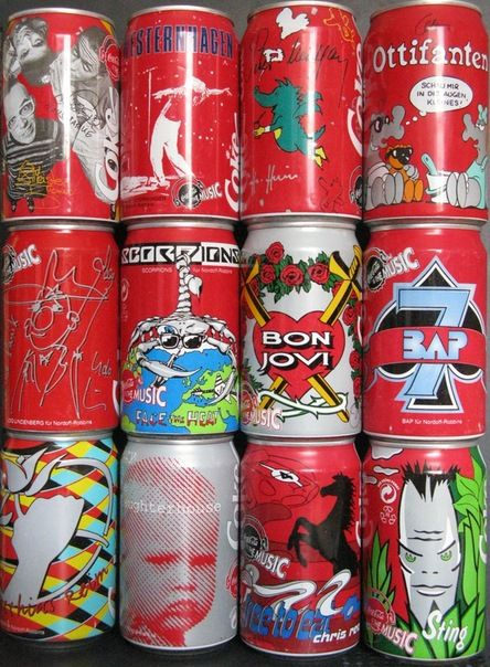 Collection of Cans from the 80s-90s (21 pics)