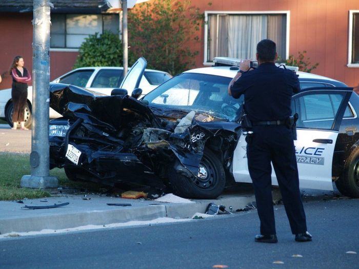 Police Car Crash (7 pics)