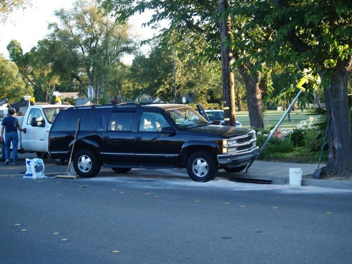 Police Car Crash (7 pics)
