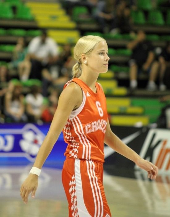 Croatian Basketball Player Antonija Mišura (25 pics)