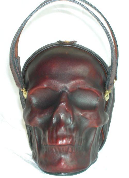 Leather Skull Purse (5 pics)