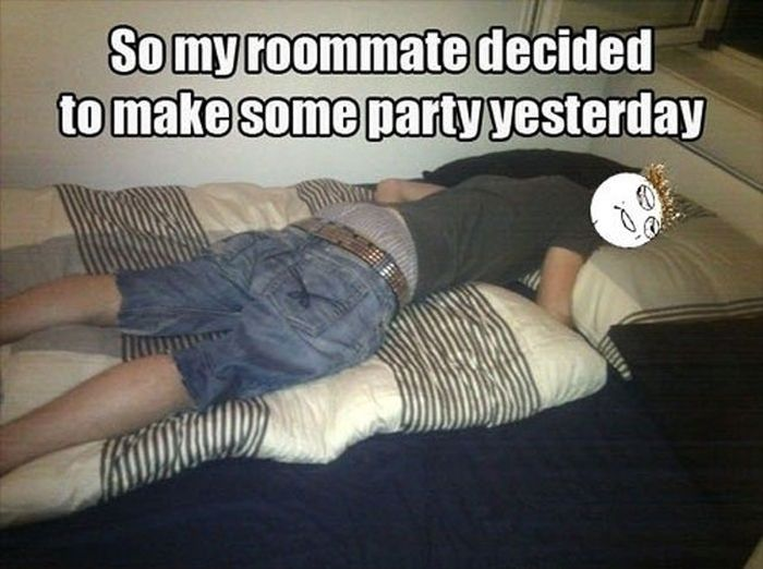 Don't Fall Asleep at the Parties (14 pics)