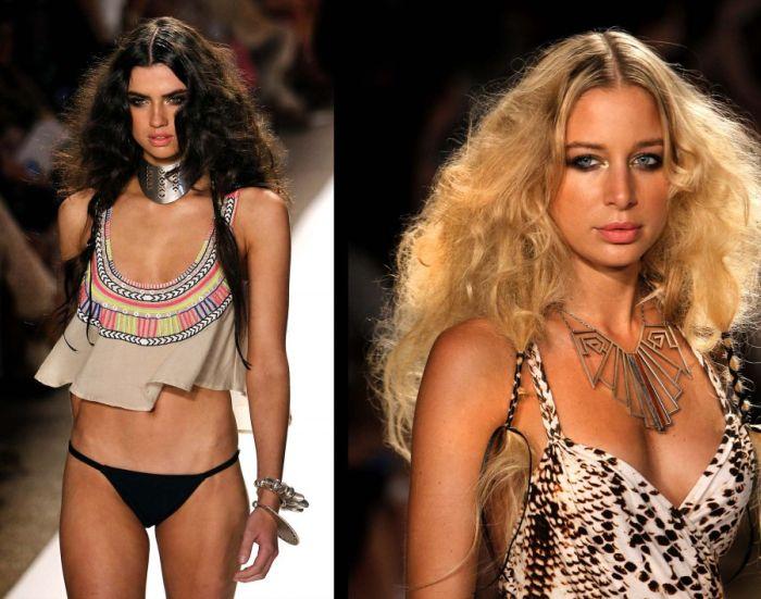 Beach Fashion Week in Miami Beach (34 pics)