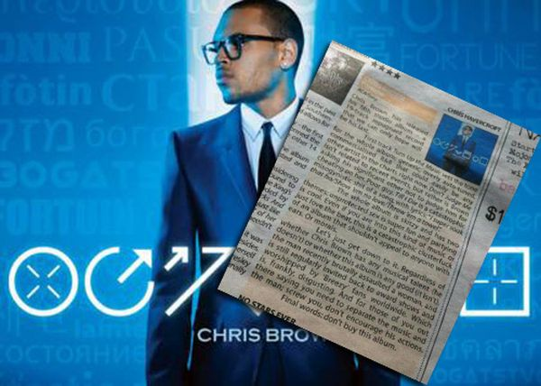 Chris Brown Album Review (2 pics)