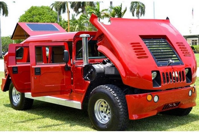 Modified Hummer H1 (40 pics)