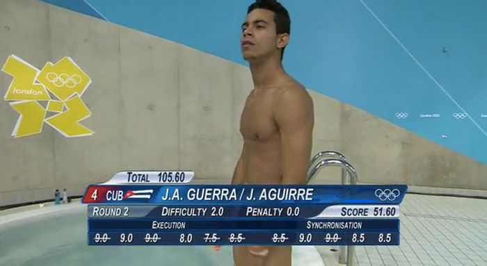The Unnecessary Censorship Of Men's Olympic Diving (22 pics)