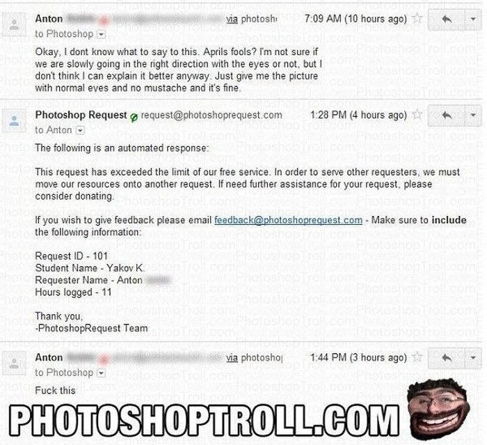 Photoshop Troll Strikes Again (7 pics)