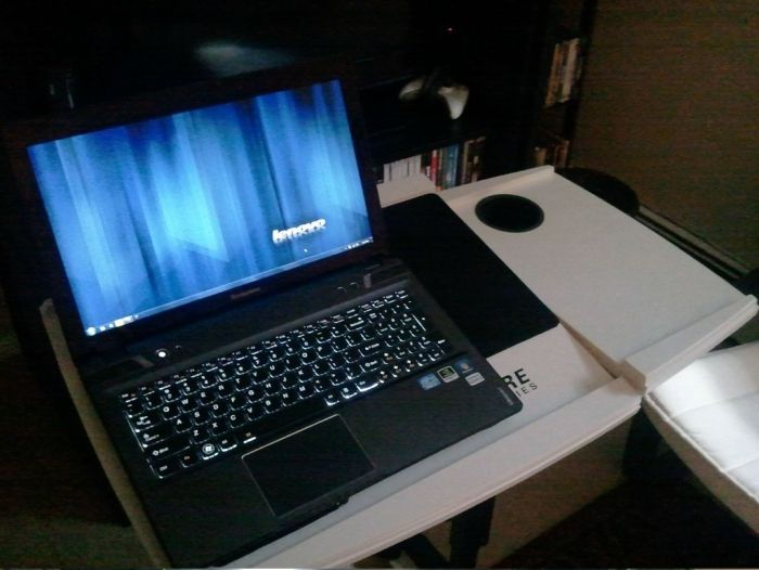 Do It Yourself Laptop Table (14 pics)