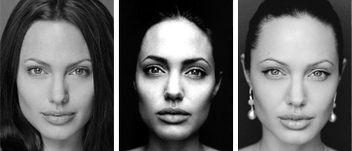 Angelina Jolie From 1989 To 2012 (6 pics)