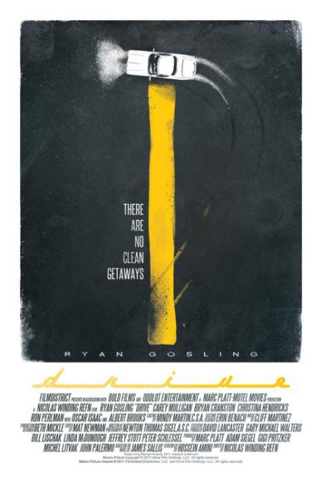 Minimalist Movie Posters (30 pics)