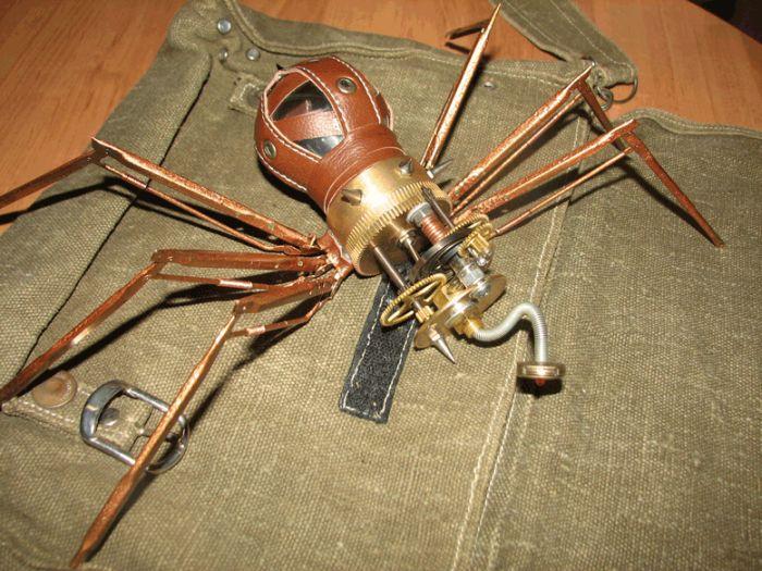 Steampunk Spider (8 pics)