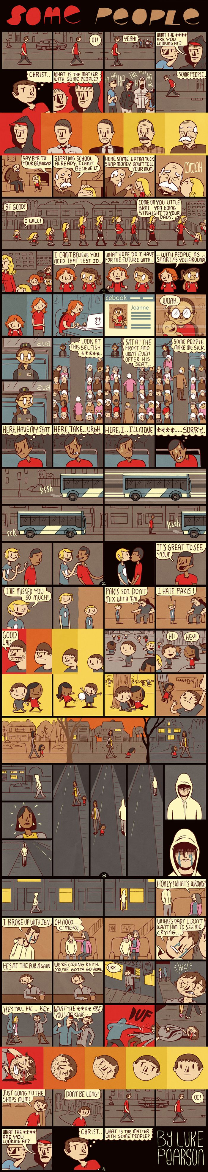"""Some People"" by Luke Pearson (1 pic)"