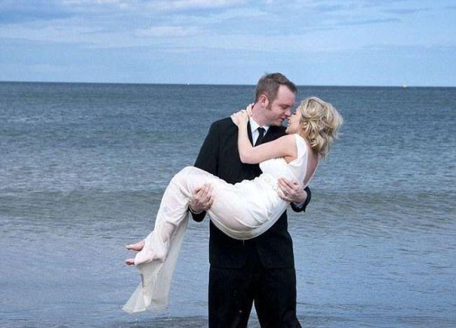 Wedding Photo Shooting Fail (8 pics + video)