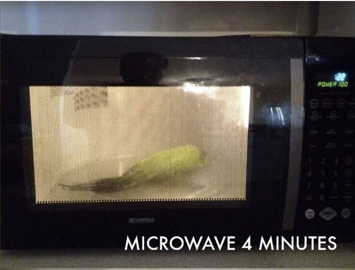 How to Cook Corn in 4 Minutes (6 pics)