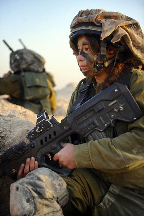 Girls of Israel Army Forces. Part 4 (29 pics)