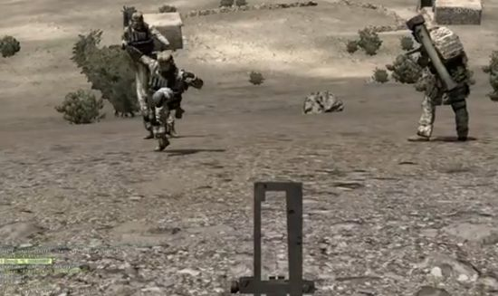 Hilarious ArmA 2: Combined Operations Dancing Fail