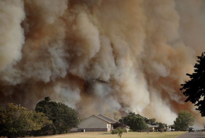 Wildfires in Oklahoma (31 pics)
