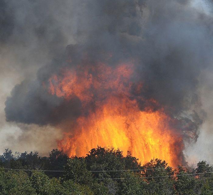 Wildfires in Oklahoma (31 pics)