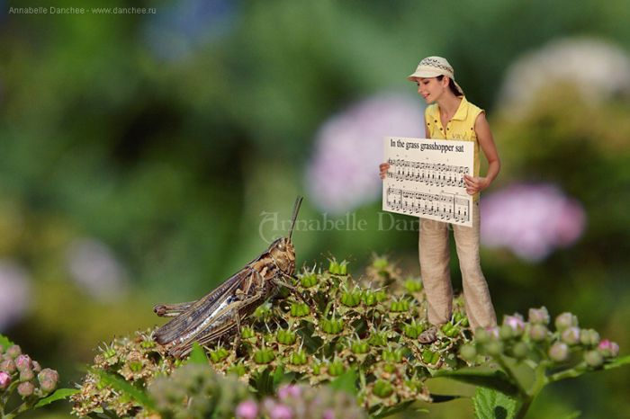 Girl In the Miniture World (40 pics)