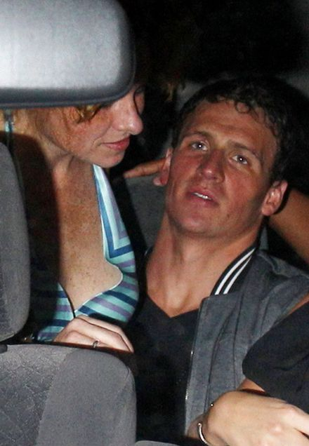 Ryan Lochte & US Swim Team Party In London (13 pics)