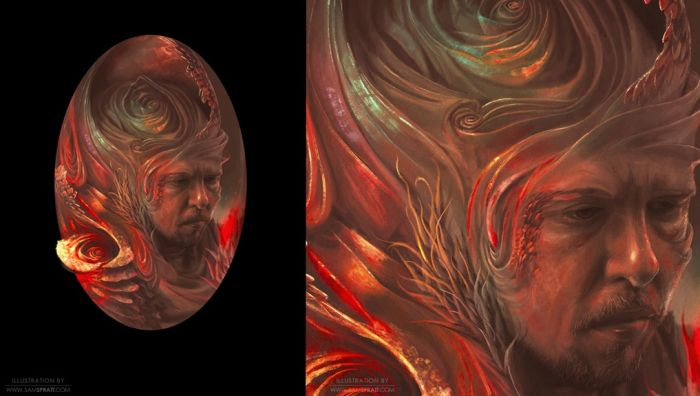 Illustrator Sam Spratt's Works (38 pics)