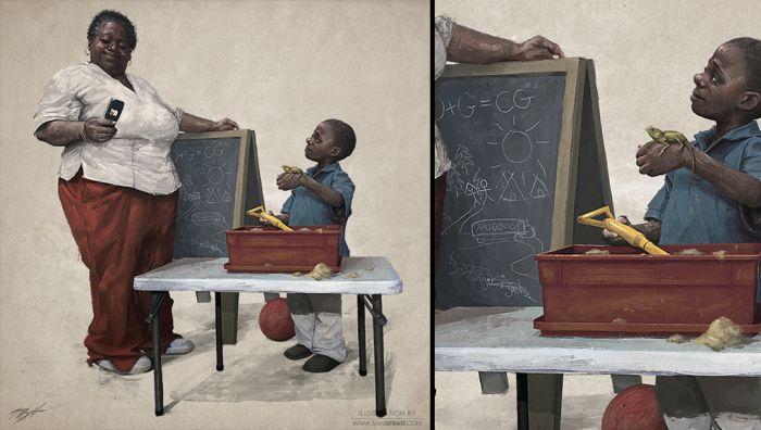 Illustrator Sam Spratt's Works (38 pics)