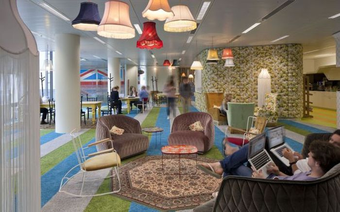 New Google Office in London (24 pics)