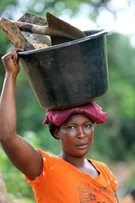 Gold Mining in Ghana (34 pics)