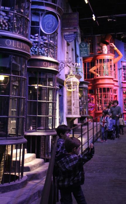 Harry Potter Studio Leavesden (22 pics)