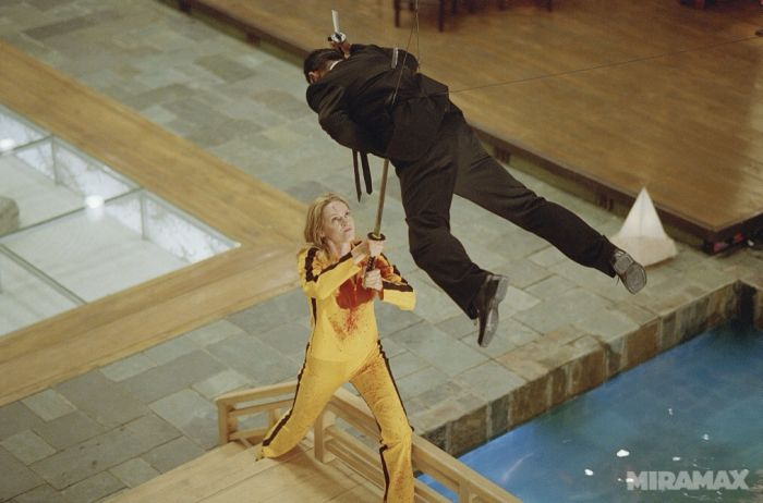 Behind the Scenes of a 'Kill Bill' Bloodbath (10 pics)