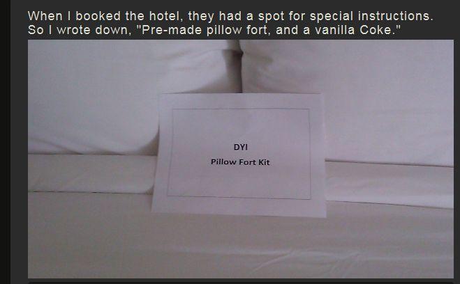 Pillow Fort (10 pics)
