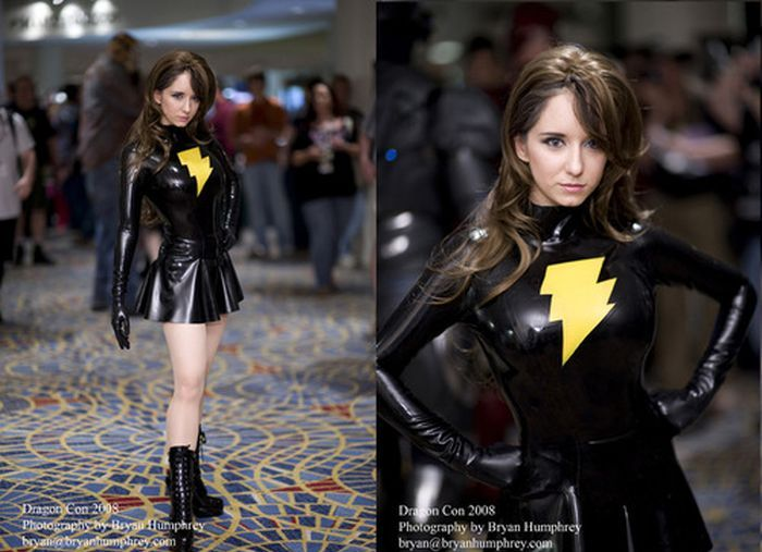 Hot Girls In Latex Cosplay Outfits 23 Pics