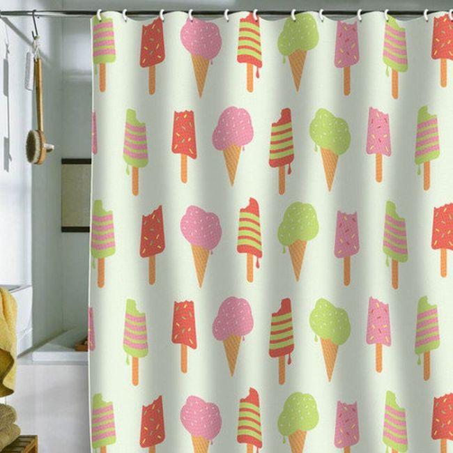 Create a shower curtain
