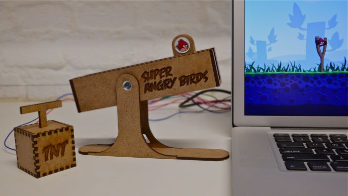 Super Angry Birds Controller (5 pics + video)
