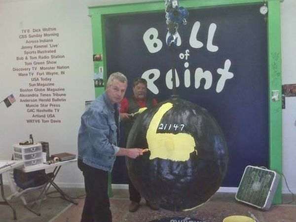 Ball of Paint (17 pics)