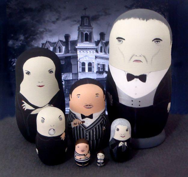 Pop-culture Nesting Dolls (16 pics)