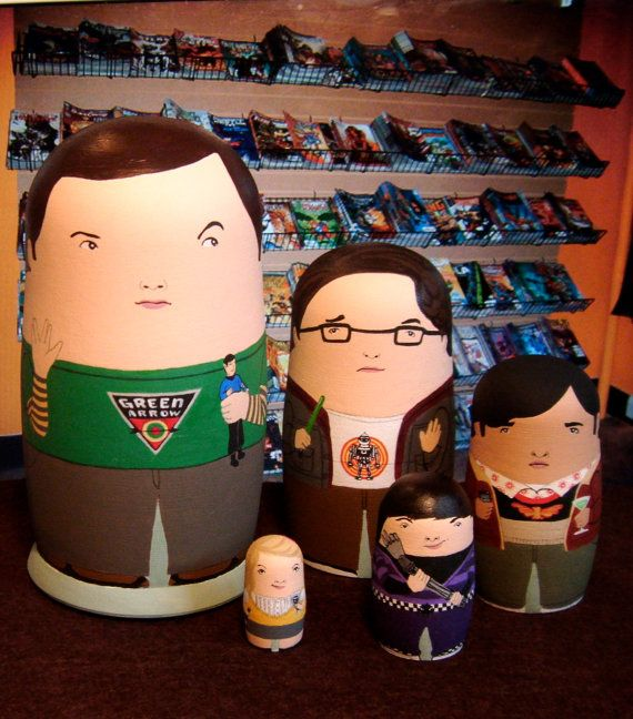 Pop-culture Nesting Dolls (16 pics)