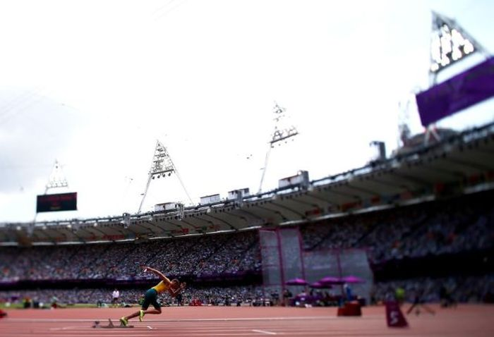 Tilt-Shift Photography At The London Olympics (13 pics)