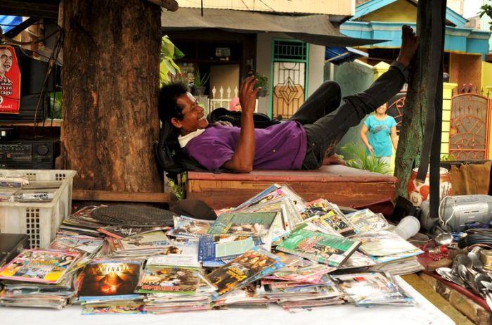 Slums of Jakarta (69 pics)