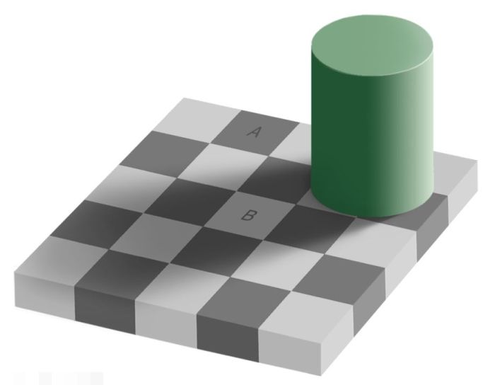 Checker Shadow Illusion (3 pics)