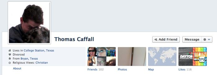 "College Station Shooter Thomas ""Tres"" Caffall's Online Trail (12 pics)"