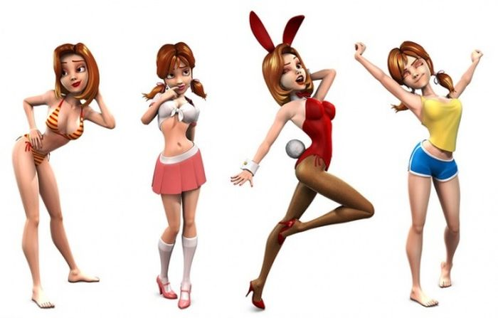 Awesome 3D Characters (46 pics)