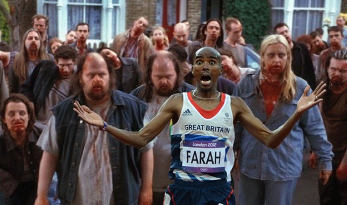 Mo Farah Running Away From Things (27 pics)