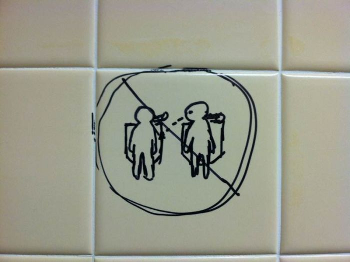 Bathroom Graffiti Wisdom (69 pics)