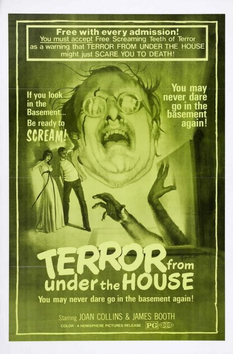 Horror and B Movie Posters (90 pics)