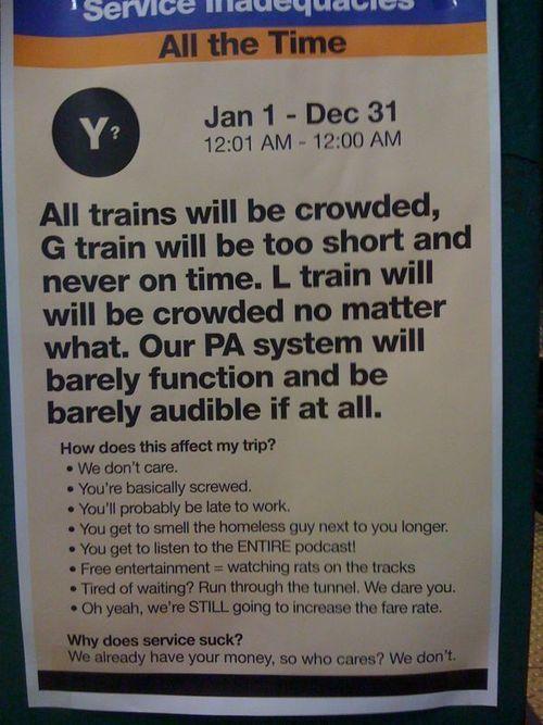 Guerilla Artists Doctoring  Signs on London Transport (19 pics)