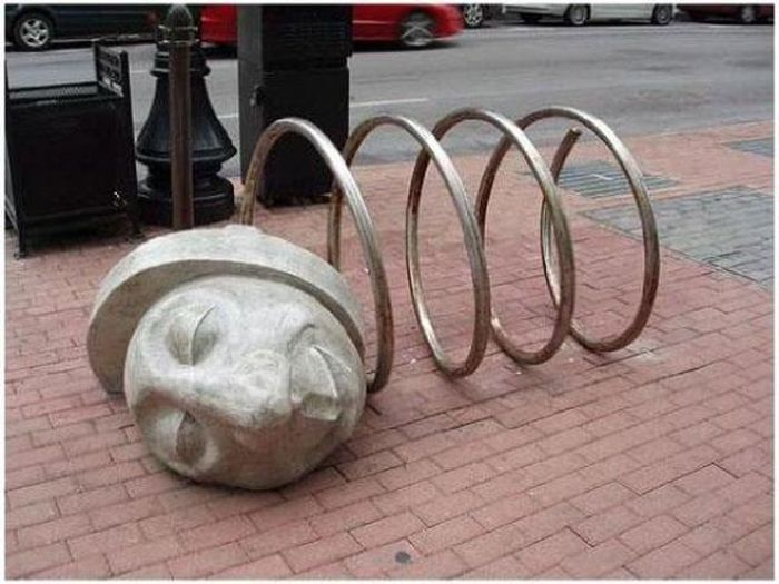 Creative Bike Racks (22 pics)