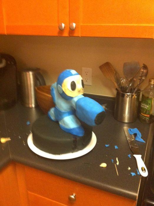 Megaman Cake (41 pics)