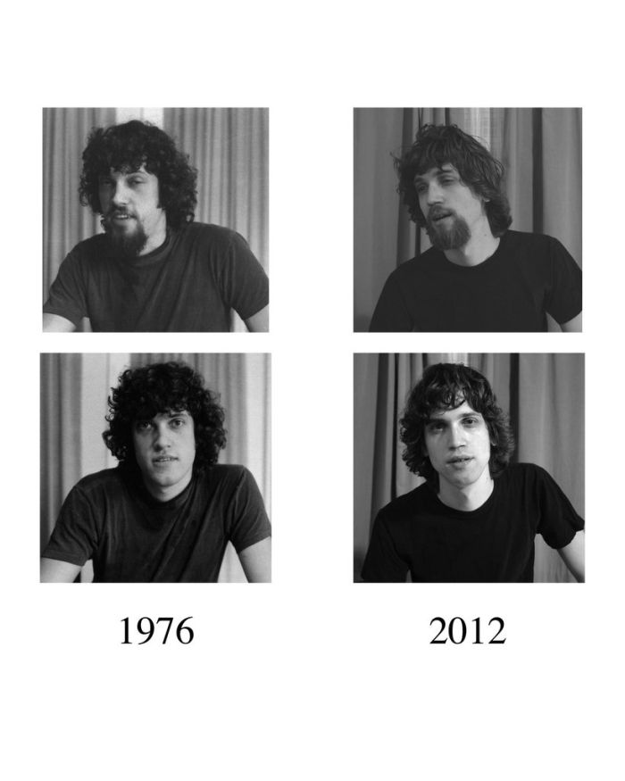Father in 1976 and Son in 2012 (3 pics)
