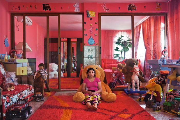 Vida de gitanos en Rumania